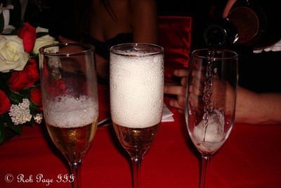 Some bubbly for the newlyweds - Medellin, Colombia ... October 22, 2011 ... Photo by Emily Page