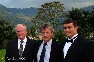 Cliff, Javier, and Cliff - Medellin, Colombia ... October 22, 2011 ... Photo by Rob Page III