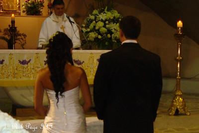 At the altar - Medellin, Colombia ... October 22, 2011 ... Photo by Emily Page