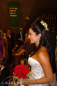 Paola walks down the aisle - Medellin, Colombia ... October 22, 2011 ... Photo by Emily Page