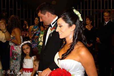 Walking down the aisle - Medellin, Colombia ... October 22, 2011 ... Photo by Emily Page