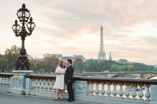 Paris engagement & wedding shoot