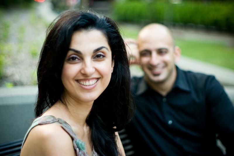 Parisa and Omid Engagement Shoot