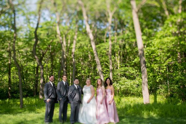 Bridal Party Woods- Tilt Shift