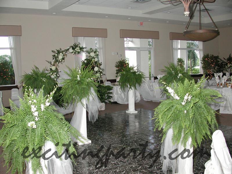 Kassady Wedding 2001 Pembroke Falls Pines FL Dominion Catering