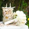Seashells and Wedding Bouquet