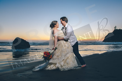 Elizabeth & Jeffrey Wedding at Ruby Beach