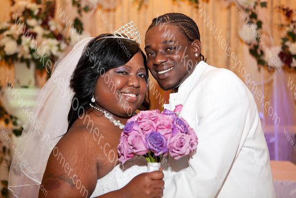 Phelesha & Kevon Wedding July 7, 2013
