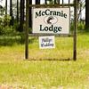 Location, McCranie's Lodge, Chauncey, Georgia