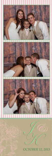 Katie and Joe's Wedding Photo Booth Photos at Meadow Brook Inn