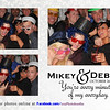 Debbie and Mikey's Wedding Photo Booth at The Serbian Social Club in Lansing, Illinois