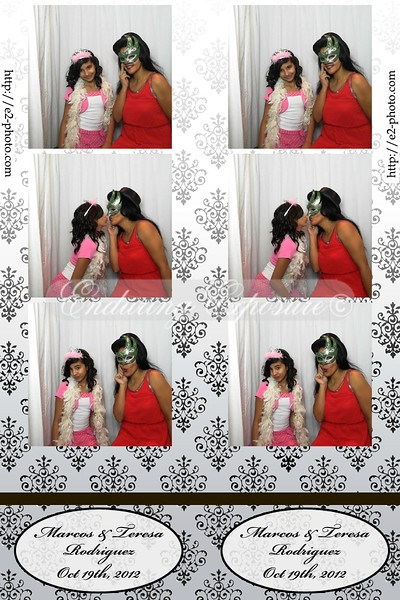 Your photo booth pic by Enduring Exposure. Congratulations to Marcos & Teresa Rodriguez. Married Friday, October 19th 2012.