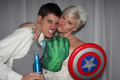Steve and Ashley's Photo Booth