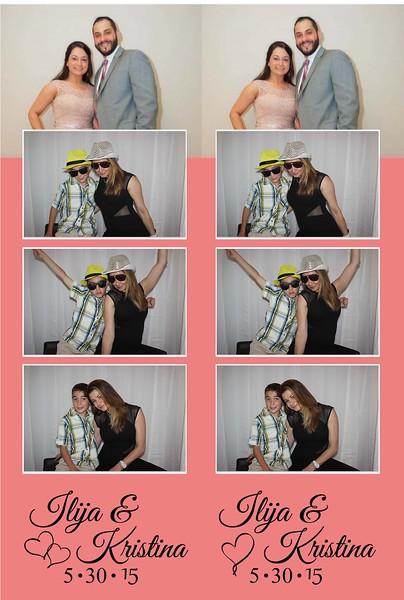 Coleska & Pejoski Wedding Photobooth in Crown Point, Indiana