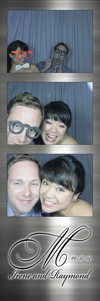 Ray and Irene's Naperville Wedding Photobooth