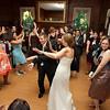 Bride and Groom Dancing at Overhills Mansion Wedding
