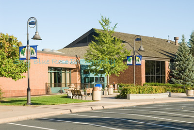 Shoreview Community Center. Big parking lot in front and in back. (not sure what area they rent out but I have been to their water park inside and that is very nice and well kept)