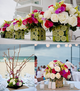 Playa del Carmen Florist, Marvin José Ku Kinil of http://www.mayafloral.com/  http://kristengacsosloan.wordpress.com/2013/01/29/playa-del-carmen-mexico-beach-wedding-at-playacar-palace/