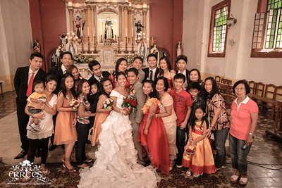 Family and Relatives group shots