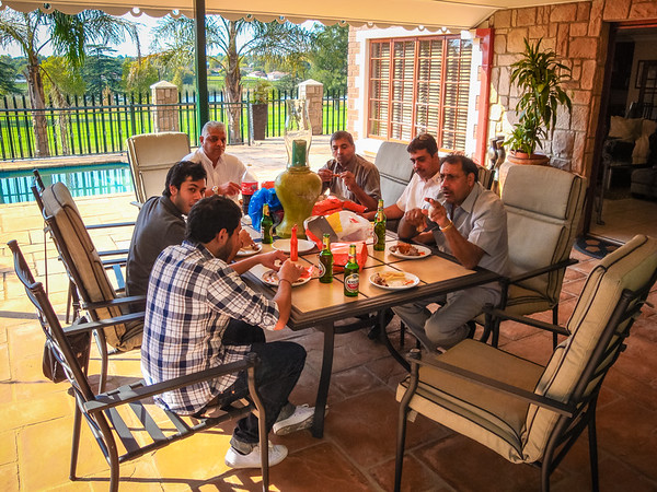 Lunch at Mahendra's Home