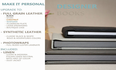 DESIGNER BOOK OPTIONS