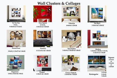 WALL CLUSTERS & COLLAGES