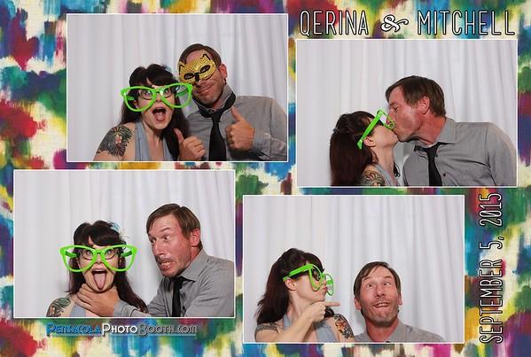 Qerina & Mitchell's Wedding 9-5-2015