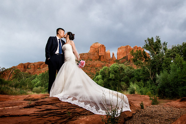 Qingyang and Wenjie | Red Rock Crossing | Sedona