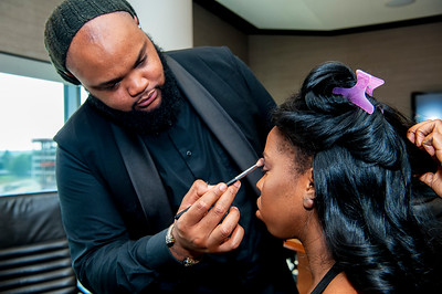 Quniton & Ebony Wash Wedding Ceremony @ The Harvey B Gantt Center 6-16-18 by Jon Strayhorn