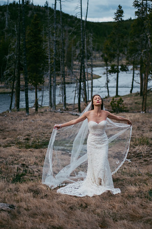 (Previews) Rachel + Alex get hitched in Yellowstone National Park