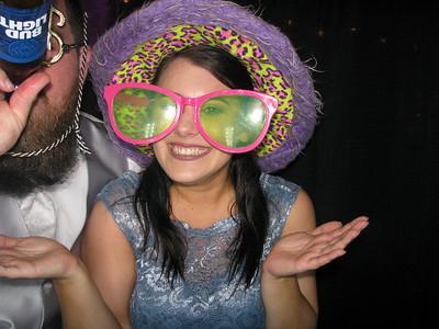 Rachel Jones and Jordan Gregory Wedding Reception and Ceremony 4/29/17