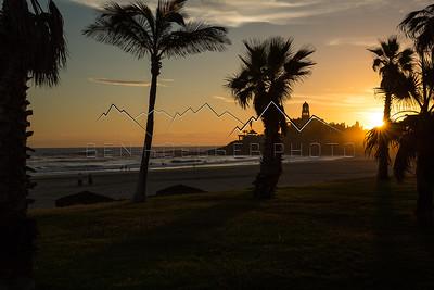 Hacienda Cerritos, Baja California Sur, Mexico at Sunset