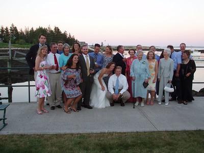 Rachel and Ty's wedding weekend