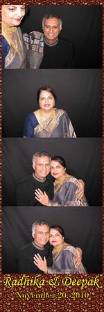 Radhika & Deepak.