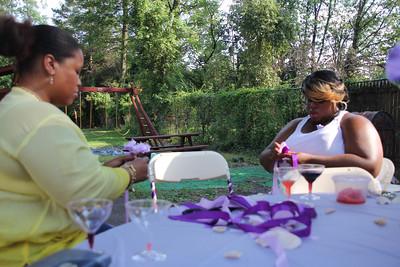 Raheema White's Bridal Party