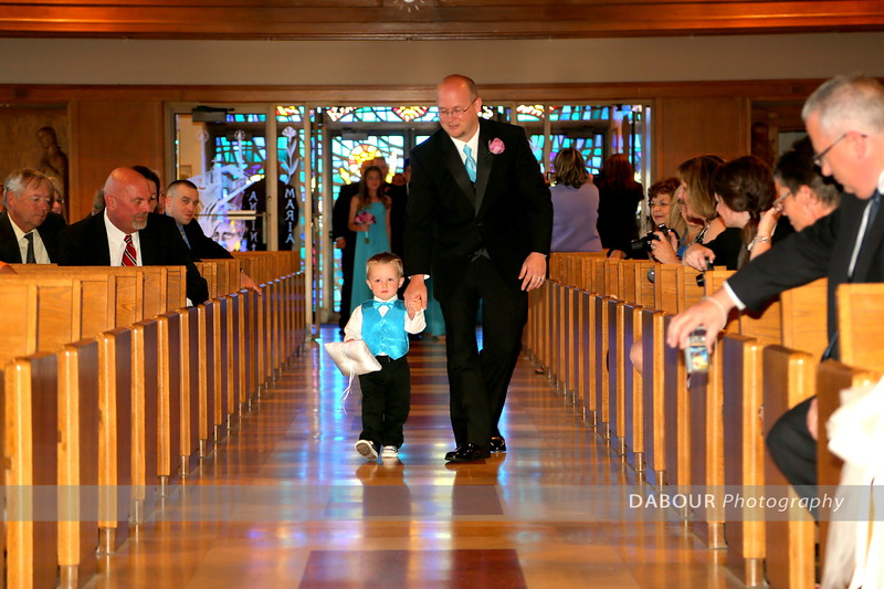 Ashley & Matt Rasley Wedding ceremony photos. © 2013 Dabour Photography