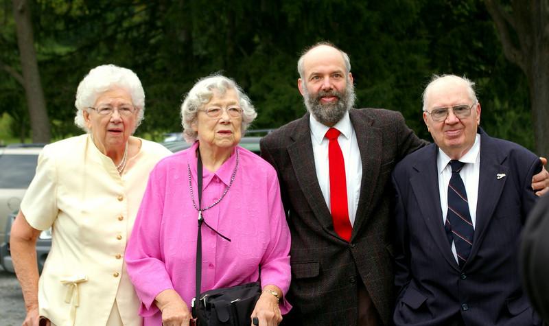 Grandma, Aunt Doris, Neil, Grandpa