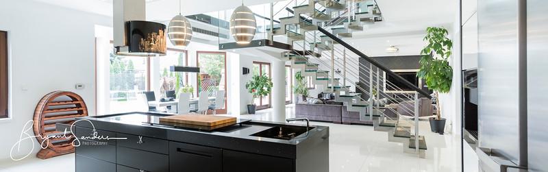 Luxurious interior in estate