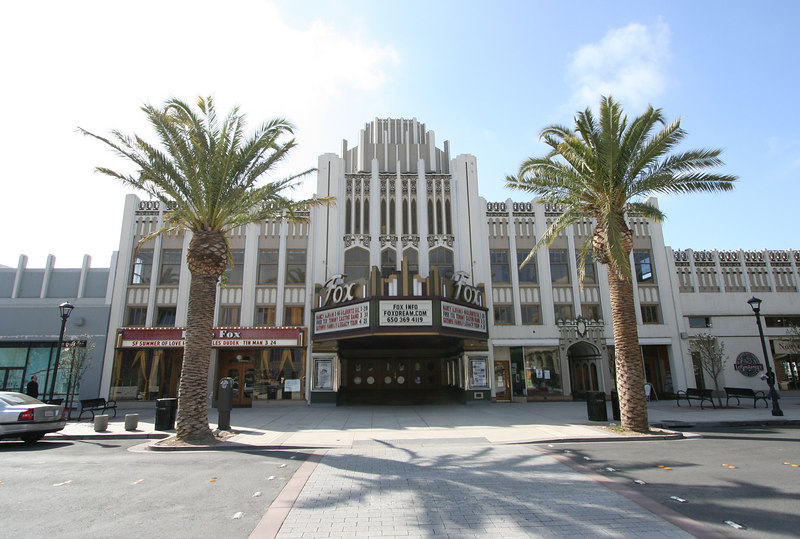 The Fox Theater, in downtown Redwood City