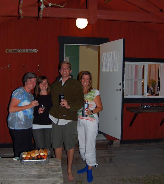 BBQ at Finhamn island
