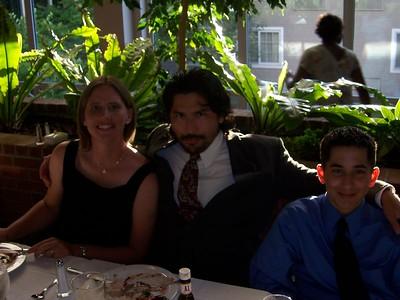 Hollys Sis, Bro in law, Nephew (Jenny, Claudio, Alex)
