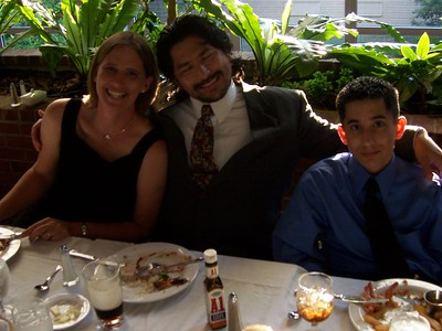 Hollys Sis, Bro in law, Nephew (Jenny, Claudio, Alex) - 2
