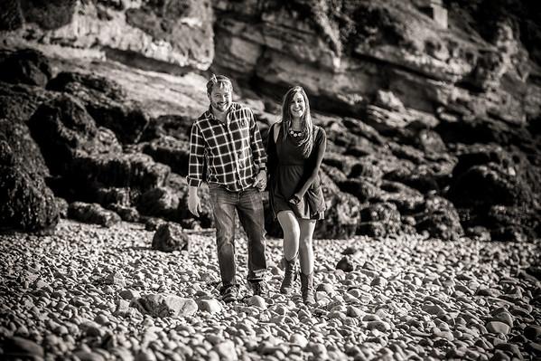 Richard & Kim Engagement Shoot, Clevedon