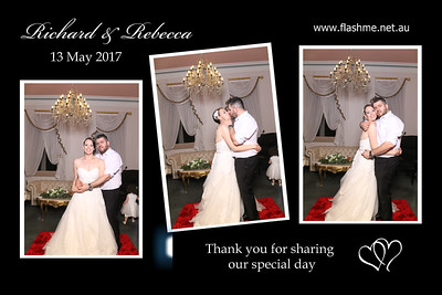 Richard & Rebecca's Wedding - 13 May 2017