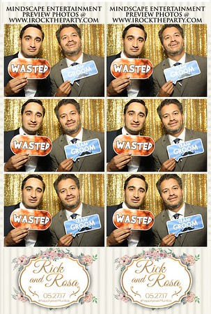Rick and Rosa's Wedding-Photo Booth Pictures