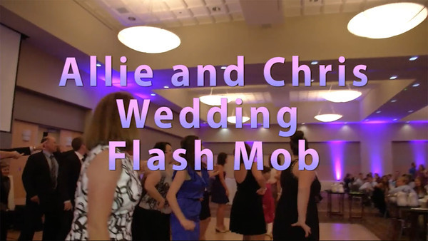 Flash Mob Surprise Dance with the Bride