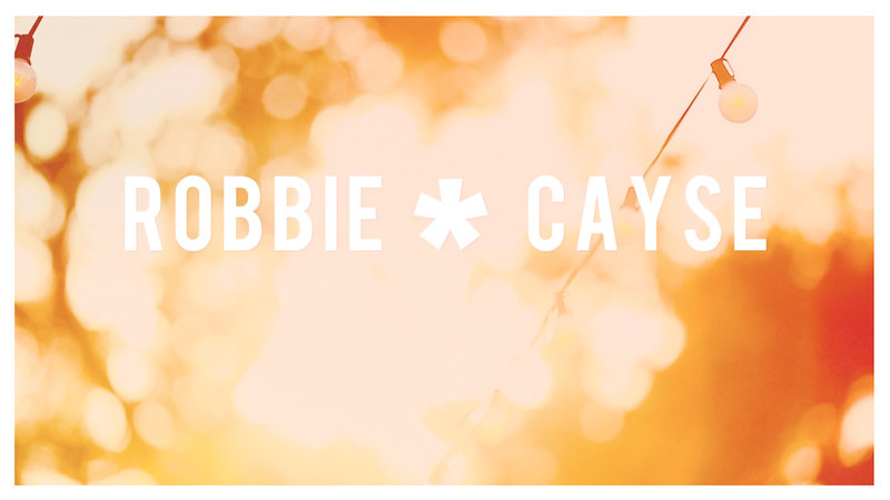 Robbie and Cayse's Wedding Day Video<br /> Highlight Reel of the Day