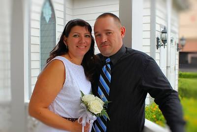 What a beautiful couple. Congratulations Mr. & Mrs. Robert Chapman.