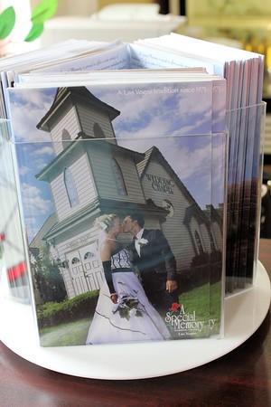 The brochure of where Robert & Claudia got married. - Vega Style.