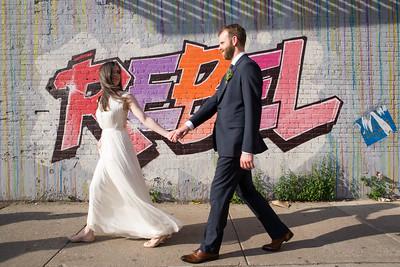 robyn + lynden wedding